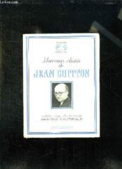 Morceaux Choisis De Jean Guitton. - Couverture - Format classique