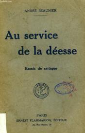 Au Service De La Deesse. - Couverture - Format classique