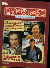 Premiere Album N°18 - 3 Numeros Introuvables - Album Relie Des N°53 - 54 - 55 - Couverture - Format classique