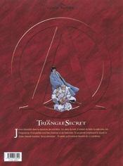Le triangle secret t.7 ; l'imposteur - 4ème de couverture - Format classique