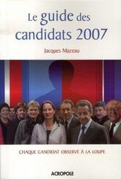 Le Guide Des Candidats 2007 - Intérieur - Format classique