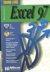 Grand livre excel 97 - Couverture - Format classique