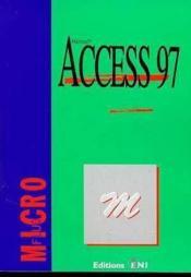 Access 97 - Couverture - Format classique