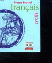 Francais Lycee - Couverture - Format classique