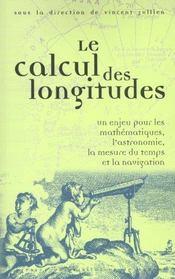 Calcul des longitudes - Intérieur - Format classique