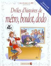 Drôles d'histoires de métro, boulot, dodo - Intérieur - Format classique