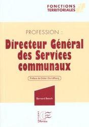 Professions directeur general des services communaux - Intérieur - Format classique