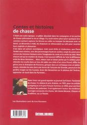 Contes Et Histoires De Chasses - 4ème de couverture - Format classique