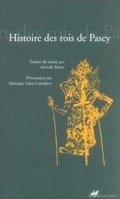 Histoire Des Rois De Pasey - Intérieur - Format classique