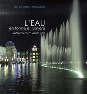 L'eau en forme et lumière - Intérieur - Format classique