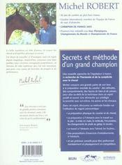 Michel Robert - Secrets Et Methodes - 4ème de couverture - Format classique