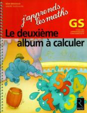 L'album à calculer t.2 ; grande section - Couverture - Format classique