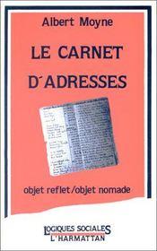 Le carnet d'adresses ; objet reflet objet nomade - Intérieur - Format classique