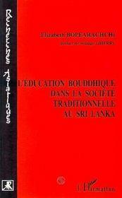 L'Education Bouddhique Dans La Societe Traditionnelle Au Sri Lanka - Intérieur - Format classique