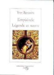 Legende Et Oeuvre. Edition Reliee - Couverture - Format classique