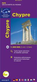 Chypre - Couverture - Format classique