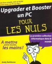 Upgrader Et Booster Un Pc - Intérieur - Format classique