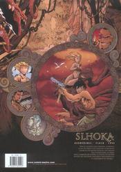 Slhoka t.1 ; l'ile oubliée - 4ème de couverture - Format classique