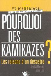 Pourquoi Des Kamikazes ? Les Raisons D'Un Desastre - Intérieur - Format classique