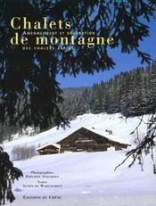 Chalets de montagne - Intérieur - Format classique