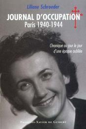 Journal D'Occupation, Paris 1940-1944 - Intérieur - Format classique