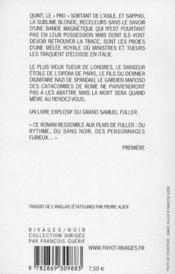 La grande mêlée - 4ème de couverture - Format classique