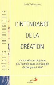 L'intendance de la creation - Intérieur - Format classique