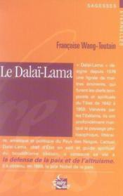 Le Dalai-Lama - Couverture - Format classique