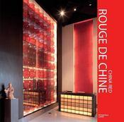 Rouge de chine - china red - Intérieur - Format classique