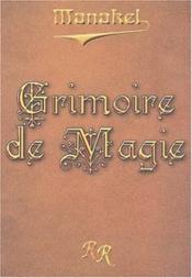 Grimoire de magie - Couverture - Format classique