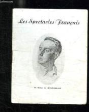 Programme. Les Spectacles Francais. - Couverture - Format classique