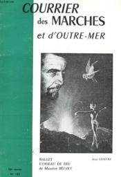 Revue Trimestrielle - Courrier Des Marches D'Outre-Mer - N° 141 - Hiver 1984 - Albert Samain - Poesie - Art - Bibliochronique - Couverture - Format classique