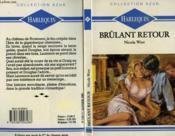 Brulant Retour - Comeback - Couverture - Format classique