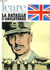 Icare N°93 - La Bataille D'Angleterre - Couverture - Format classique