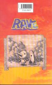 Rave t.16 - 4ème de couverture - Format classique