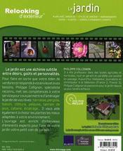 Relooking D'Exterieur : Le Jardin - 4ème de couverture - Format classique