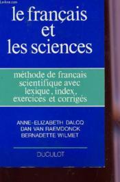 Methode de francais scientifique avec lexique, index, exercices et corriges - Couverture - Format classique