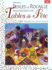 Perles de rocaille tables en fête - Intérieur - Format classique