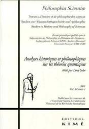 Revue Philosophia Scientiae N.5 - Couverture - Format classique