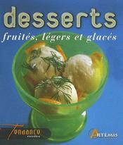 Desserts fruités, légers et glacés - Intérieur - Format classique