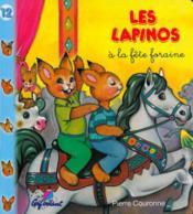LAPINOS T.12 ; à la fête foraine - Couverture - Format classique