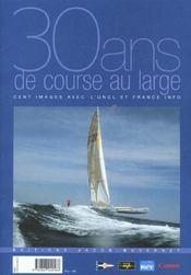 30 ans de course au large - Intérieur - Format classique