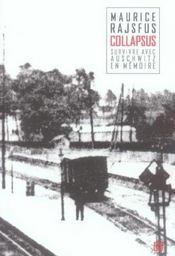 Collapsus ; Survivre Avec Auschwitz En Memoire - Intérieur - Format classique