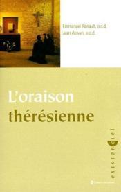 L'oraison thérésienne - Couverture - Format classique