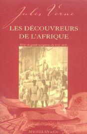 Les découvreurs de l'Afrique (2e édition) - Intérieur - Format classique