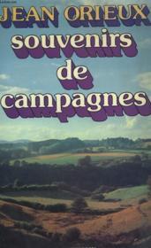 Souvenirs De Campagnes. - Couverture - Format classique