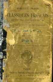 Morceaux Choisis Des Classiques Francais - Couverture - Format classique