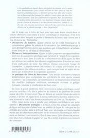 El libro de buen amor de juan ruiz archipretre de hita - 4ème de couverture - Format classique