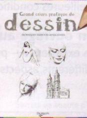 Grand cours pratique de dessin - Couverture - Format classique