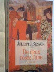 De Deux Roses L Une - Intérieur - Format classique